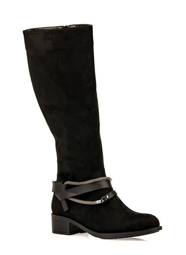 Punto Çizme Siyah